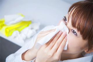 風邪(鼻づまり、鼻やのどの粘膜の乾燥、くしゃみ、鼻水、のどが痛む、せきが出る。などの症状)